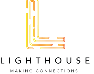 Lighthouse logo by Infinity Design